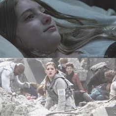 - 3 DAYS UNTIL CHRISTMAS  First and last time we see Primose Everdeen in The Hunger Games Franchise
