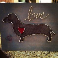Image result for Free Printable String Art Patterns dachshund