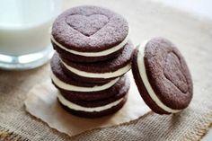 Como hacer galletitas Oreos 11