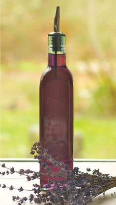 lavender syrup 581x1024 Cooking Calm: Transform Your Tastebuds with Lavender