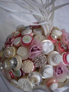The Fairy Tale Button Bouquet