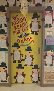 """End of the year writing telling why they are ready for the next grade....""""We Arrgh Ready For 2nd Grade!"""""""