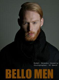 JE Model Management - Brandon Connelly Blue Green Hair, Green Hair Colors, Eye Color, It Cast, Model, Management, Google Search, Long Hair Man, Men
