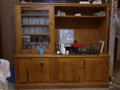 Yellow wood wall unit | Port Elizabeth | Gumtree South Africa ...