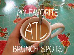 Favorite Atlanta Brunch Spots from the AsianCajuns!