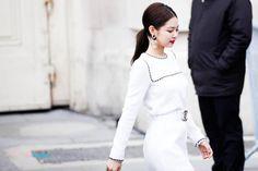 Blackpink jennie for chanel event Yg Entertainment, South Korean Girls, Korean Girl Groups, Rapper, Paris Fashion Week, Chanel Fashion Show, Chanel Paris, Jennie Blackpink, Editing Pictures