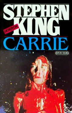 Carrie - Stephen King--excellent book for any girl who was ever shunned and felt ugly and would like to get revenge on those who made her feel that way >:) Carrie Stephen King, Stephen King Movies, I Love Books, Books To Read, My Books, Scary Movies, Horror Movies, Carti Online, Sissy Spacek