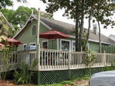 Seacow Eatery in Edisto Beach, SC  Doug says they have the best Reuben he's ever had