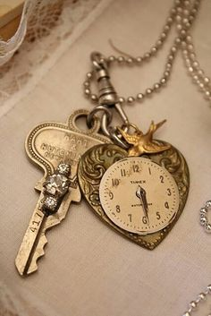 .clock and key