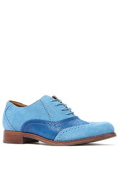 The Whitmore Oxford in Chalk Blue by Sebago
