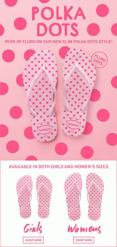 59f156bdbf9376 Havaianas Australia - Google+  pink  polkadot  havaianas  summer  flipflops
