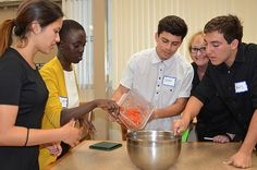 SEEDS scholars at Mesa College in San Diego participating in an Iron ...