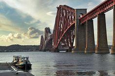 forth bridge scotland | PHOTO: Firth of Forth Bridge, Edinburgh, Scotland
