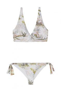 919c2dda7 Bikinis y bañadores de Oysho  estos son los 20 nuevos diseños que vas a querer  llevar - Blanco y dorado