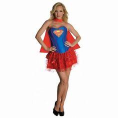 Disfraz Supergirl corsé | Disfraces Originales