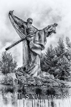 """Mort-Homme """"Skeleton Memorial,"""" Verdun, France"""