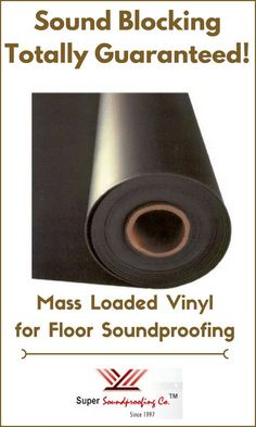 Soundproof Your House Office Floor With Our Best Mass Loaded Vinyl