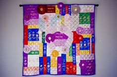 House of Spots - See Spot Run. See Spot Jump.: Ribbon Quilts!