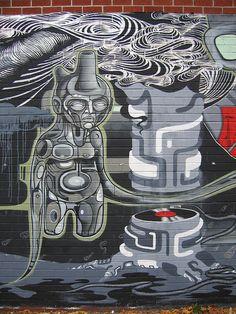Doze Green, Greenpoint II Art Installations, Installation Art, Graffiti Murals, Best Street Art, Stencil Art, Banksy, Public Art, Urban Art, Art World
