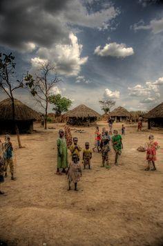 https://flic.kr/p/61EG3i | Children in Village