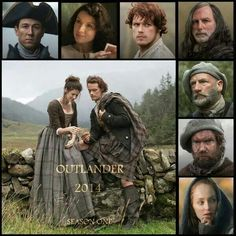 Outlander!! <3- even tho it hasn't come out yet it WILL be an awesome show! haha