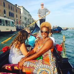 The beauty of #Venice with @discovher. Sun smiles and Travel Well #TravelFly!