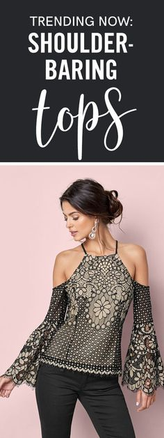 Fall in love with lace this season!