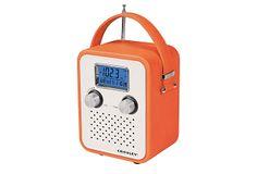 Portable Songbird Radio, Orange on OneKingsLane.com