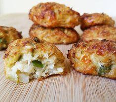 Croquetas de coliflor Ingredientes:  -400 gr de coliflor -1 Ajo picado -60 gr de cebolla picada -40 gr de harina de avena -30 o 40 gr de queso tierno rallado -1 Huevo -3 cucharadas de perejil picado -Sal al gusto -Pimienta al gusto -Aceite de oliva