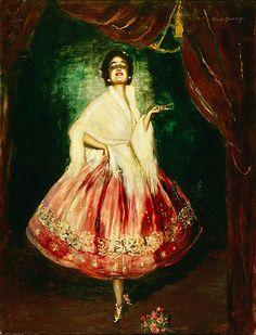 Otto Hierl-Deronco (German, 1859-1935). Spanische Tänzerin (Spanish Dancer), n.d. Charles and Emma Frye Collection, 1952.068