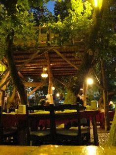 Dalyan, Turkey - Bengisu Treehouse Restaurant
