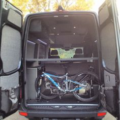 Just mount them in the back and let's get outa here quick! The mtb trails are perrrfect...