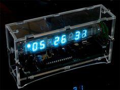 Ice Tube VFD Clock kit from Adafruit Industries