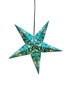 Paper Star Lantern - Mediteranean