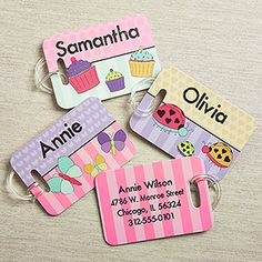 Just+For+Her+Personalized+Luggage+Tag+2+Pc+Set