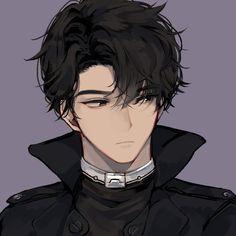 Hot Anime Boy, Dark Anime Guys, Cool Anime Guys, Handsome Anime Guys, Black Hair Anime Guy, Black Haired Anime Boy, Anime Boy Hair, Anime Cat Boy, Anime Demon Boy