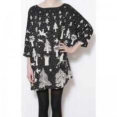 BOSQUE   150€   #dress        Vestido ancho con estampado de bosque    150€                                                                                                                                                                                 Más