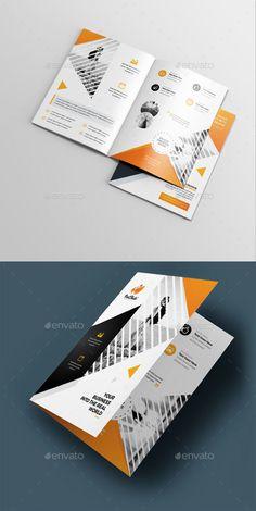 Best Creative Brochure Design Inspiration 2019 - New Site Graphic Design Brochure, Corporate Brochure Design, Company Brochure, Creative Brochure, Brochure Design Inspiration, Business Brochure, Business Flyer, Product Brochure, Packaging