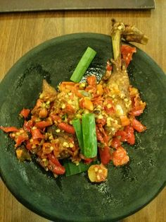Spicy chicken / Ayam Cabe Rempah, super hot and delicious