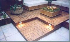 OLHA O MEU APÊ: Decks de madeira