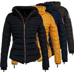 Navahoo Amber Damen Winter Jacke Steppjacke Mantel Winter Stepp Winterjacke Warm