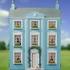 6 rooms incl attic stairs The Classical Dolls House MDF flatpacked unpainted kit (H) x (W) x (D) Attic Stairs, Kit Homes, Doll Houses, Miniatures, Rooms, Street, Holiday Decor, Home Decor, Little Cottages