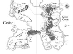 Map of The Throne of Glass (Sarah J. Maas) Yield the map as you would a dagger- Aameena M