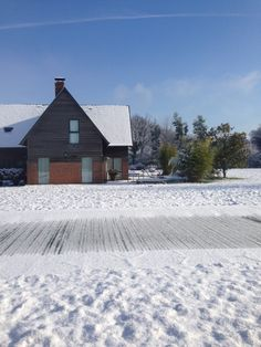 Let it snow #SwimmingPool #Honfleur