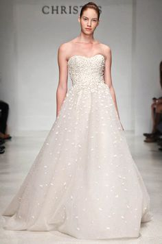 Christos Spring 2015 Wedding Dresses