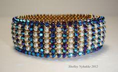 Simply Marvelous Darling Bracelet  Purple by SturdyGirlDesigns, $155.00