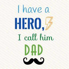 Feliz día a los súper héroes! Happy Father's Day!!