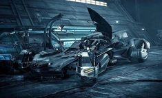 nuevo Batmovil (Liga de la Justicia)