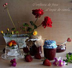 Unas Gotas de Imaginación: Confitura de fresa al toque de canela