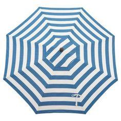 Bellini Home and Gardens Aluminum 9 ft. Striped Market Umbrella - UM90RZSB2027